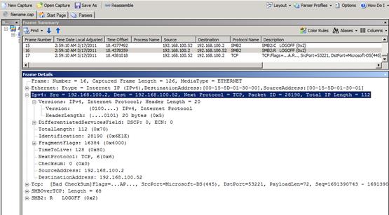 Using Nmcap To Capture Network Data