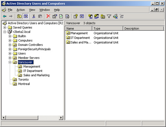 best practice active directory design for