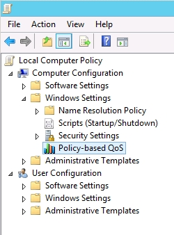 how to create a group policy in windows server 2012