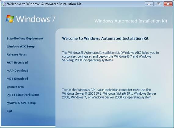 Windows aik