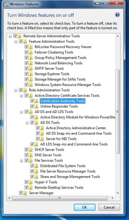 Remote Server Administration Tools For Windows 7 And