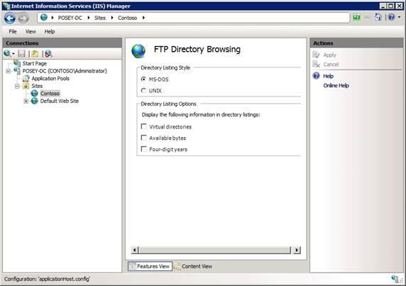 read write access virtual directory iis7 arr