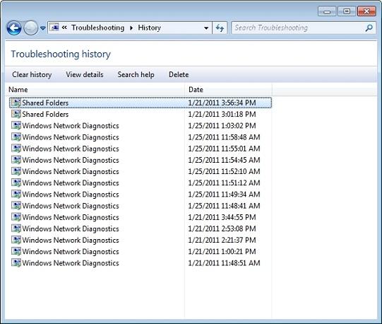 View Error Log Windows 7: Network Diagnostics And Tracing In Windows 7 :: Windows 7